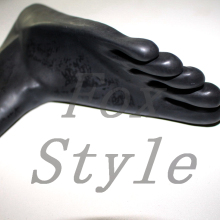 Latex toe socks for adult in size S M L