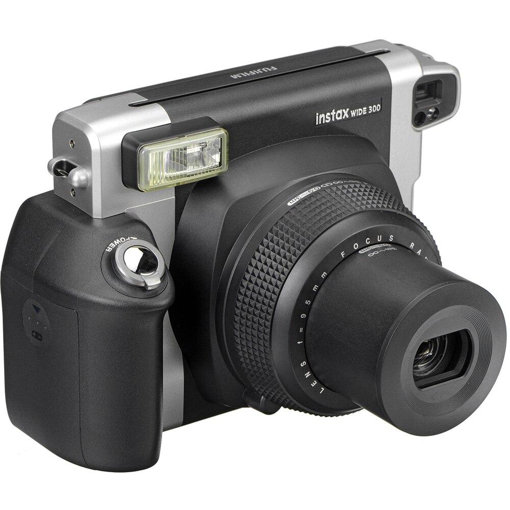 Cámara instantánea Fujifilm Instax Wide 300 + 20 hojas de papel fotográfico de 5 pulgadas con borde blanco Fuji Instax auténtico Vidrio templado para Huawei honor 20 lite protector de pantalla para película de vidrio honor 20 lite