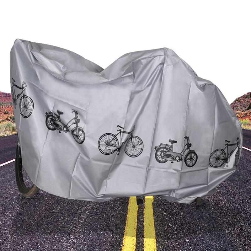 Портативный водонепроницаемый чехол для велосипеда и мотоцикла, защита от дождя, защита для велосипеда, Аксессуары для велосипеда|Защитное оборудование|   | АлиЭкспресс