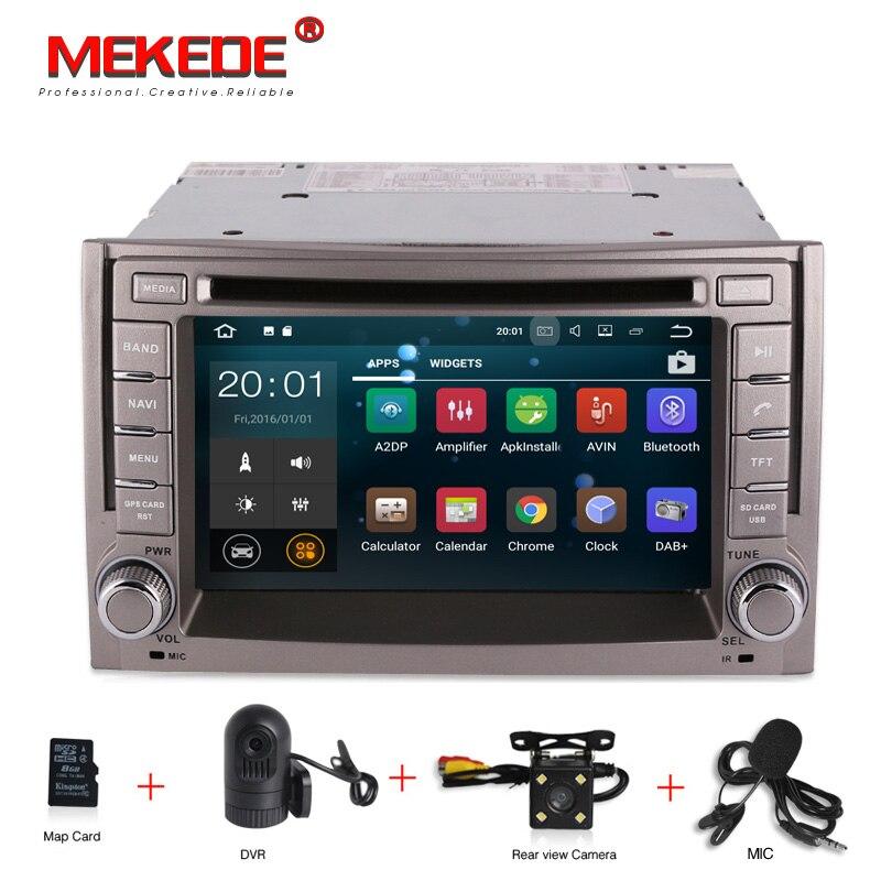 2g RAM Android 7.1 Lecteur DVD de Voiture pour Hyundai H1 H-1 iMax iLoad Grand Starex Voiture Radio GPS stéréo WIFI commande au volant