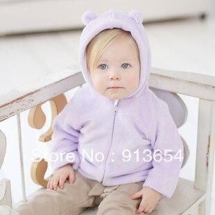 Весна осень младенцы пальто мальчики и девочка длинная - рукав кардиган балахон дети верхняя одежда младенцы свитер