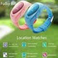 Новая Мода Wi-Fi GPS Ppositioning A6 детские Умные Часы Oled-экран Борьбе Потерянный SOS Смарт-Телефон-Часы