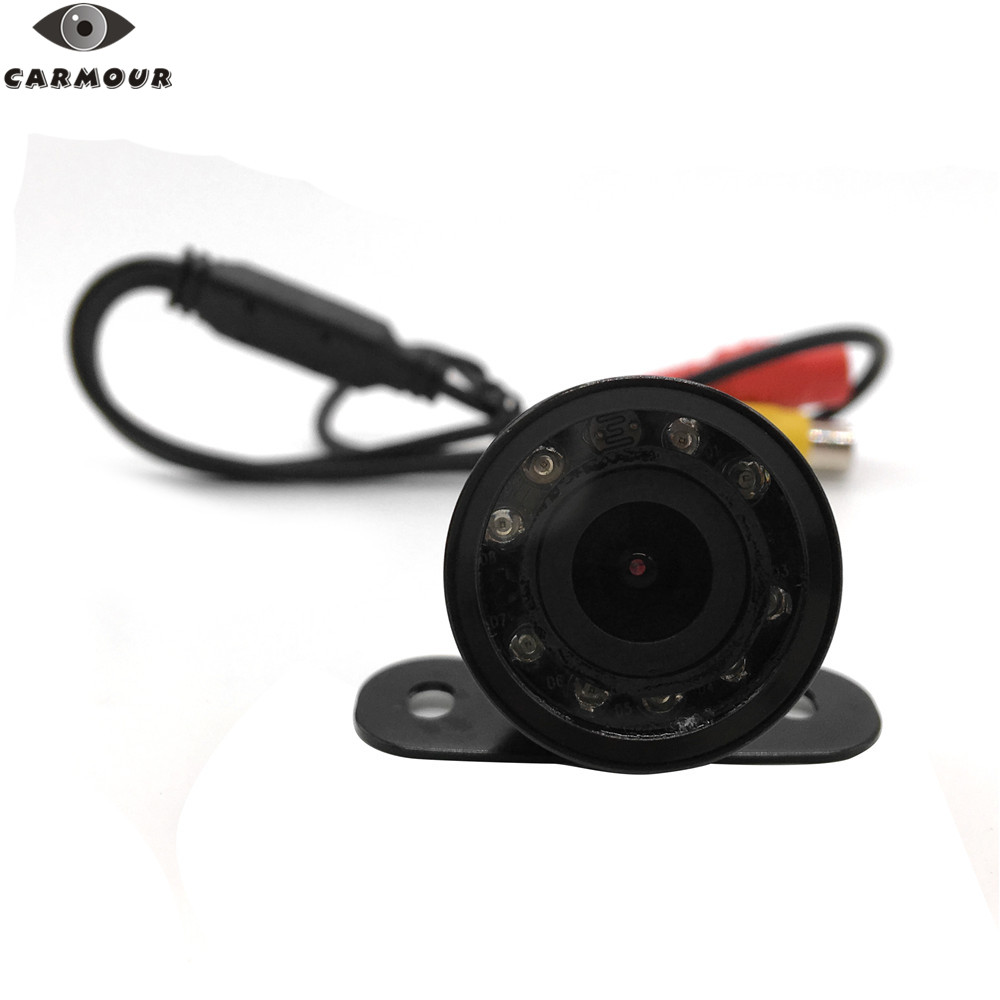 Image 4 - CARMOUR 9 IR led Waterproof Car Rear View CMOS Camera Butterfly Parking Backup Reversing Cam without Parking Line(no cable)-in Vehicle Camera from Automobiles & Motorcycles