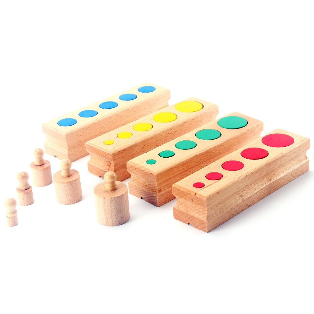 Objective Wooden Montessori Tray Locks Set Educational Toys For Children Montessori Preschool Sensorial Materials Juguetes Ml1344h Home