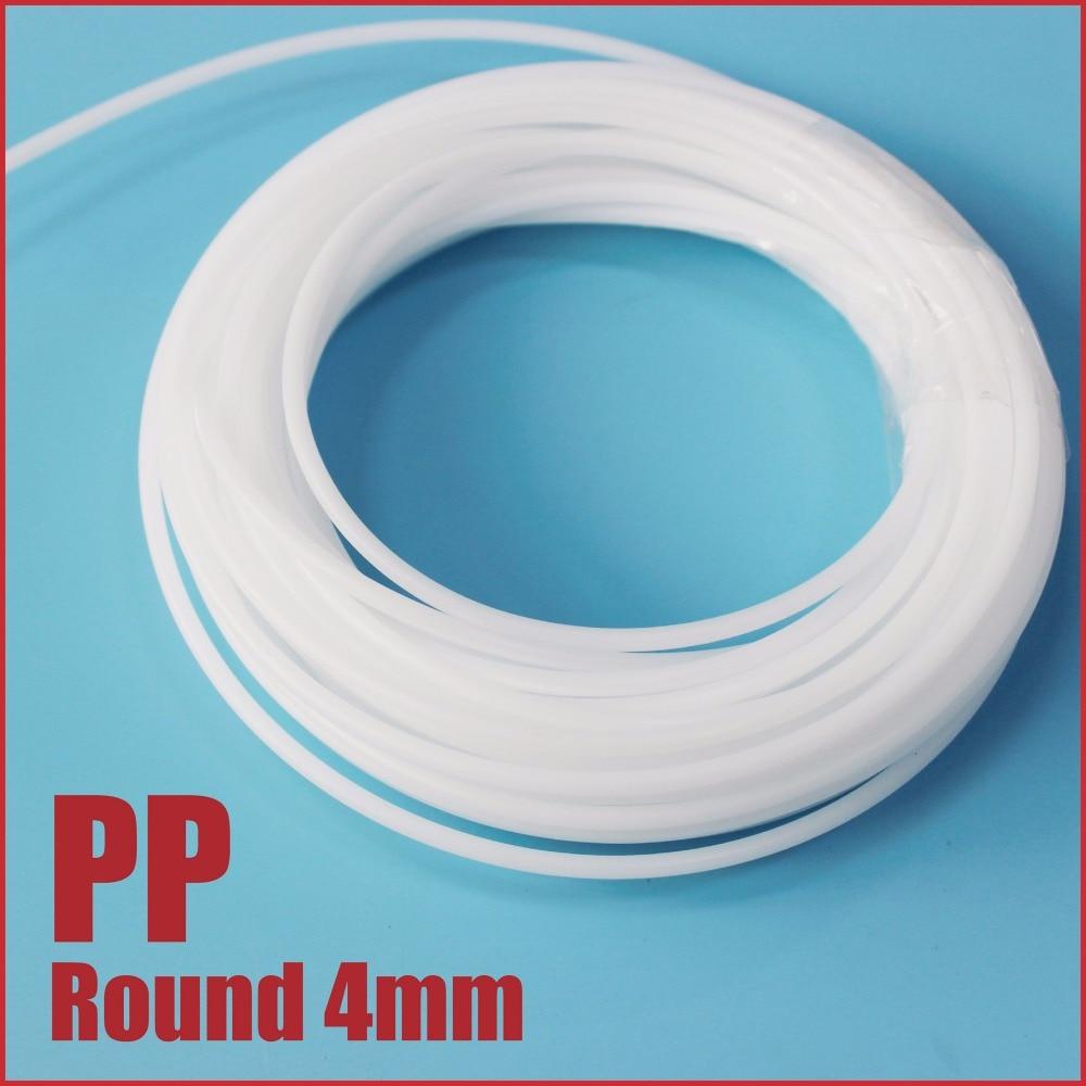 PP Plastic Welding Rods Round 4mm Bumper Fairing Repairs welder gun filler weld sticks car body splits dents damage soldering