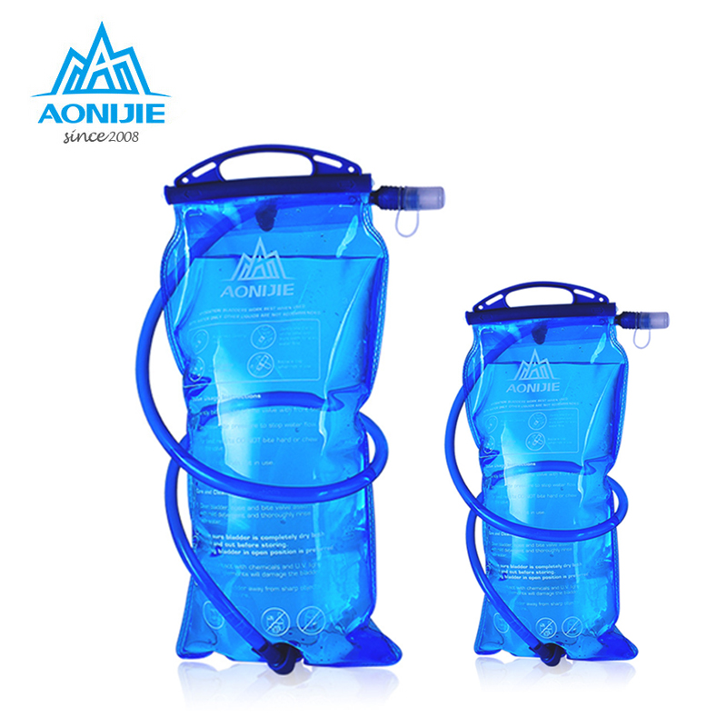 AONIJIE1.5L /2L /3L Water Bladder Bag PEVA Hydration Bladder Cycling Hiking Camping Pack Water BagAONIJIE1.5L /2L /3L Water Bladder Bag PEVA Hydration Bladder Cycling Hiking Camping Pack Water Bag