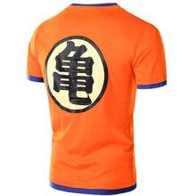 Dragon Ball T shirt Men Tee Shirt Homme Summer Style Anime Comic V Neck Tshirt Casual Brand Cotton Cosplay 3D T-shirt