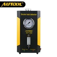 Official AUTOOL SDT-206 Car Smoke Machines Automobile Cars Repair Tool Leak Locator Automotive Diagnostic Leak Detector SDT206