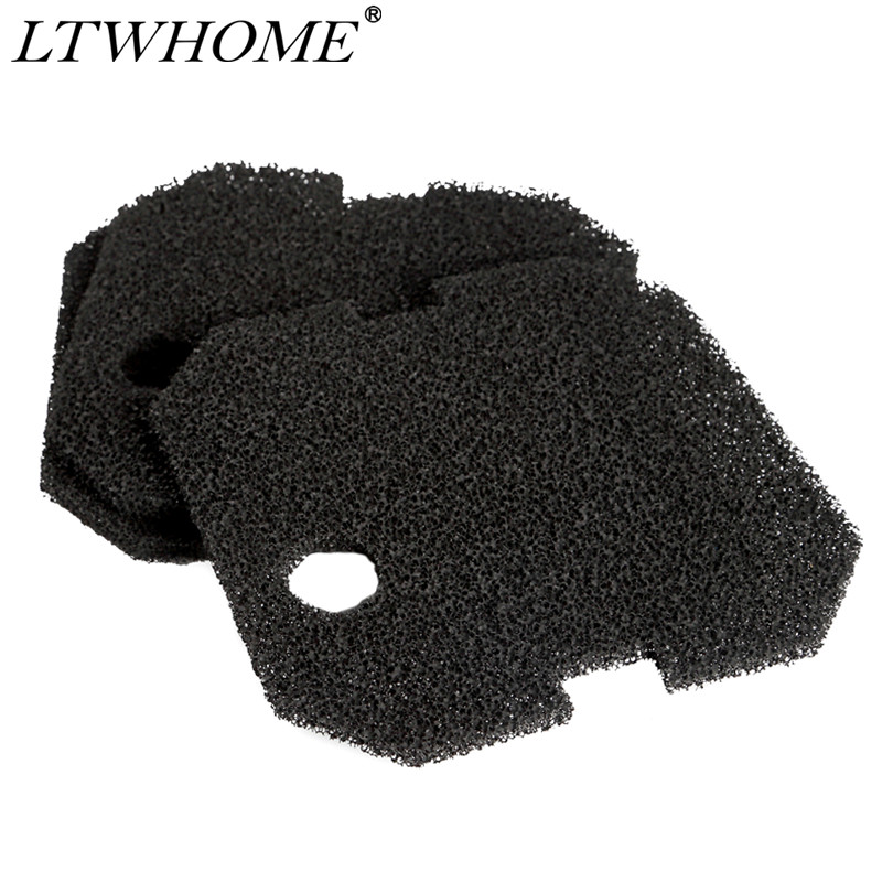 LTWHOME Activated Carbon Foam Filter Pads Fit for Eheim 2628260 Professional Pro 2 2226//2328//2026//2126 Pack of 12