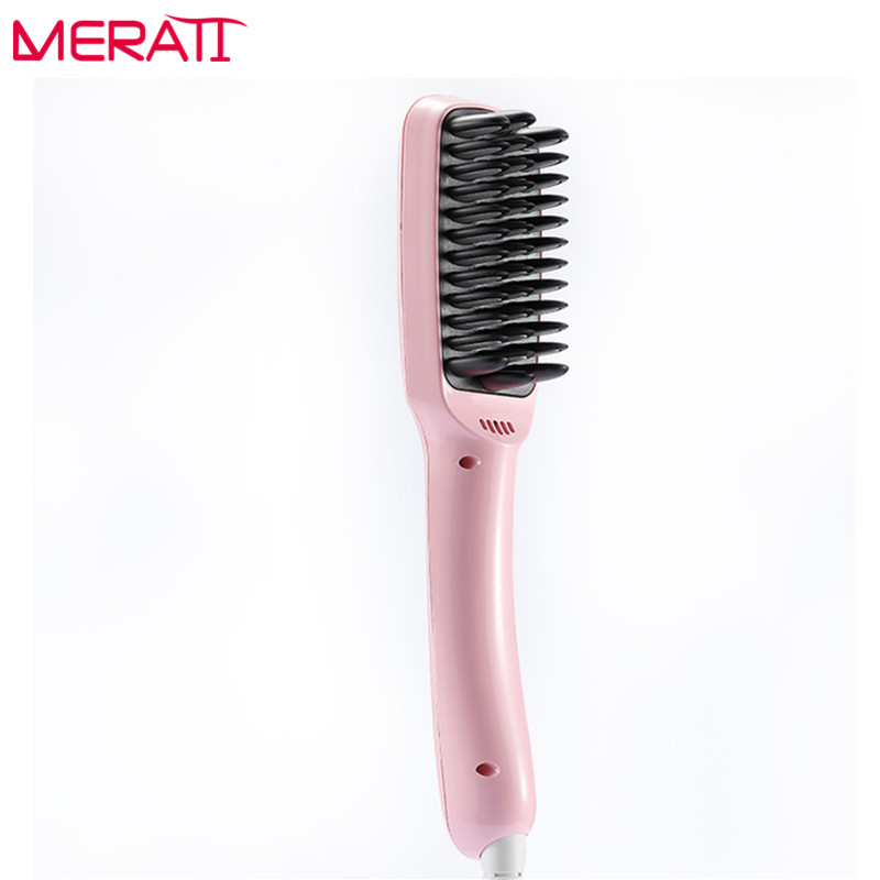 2017 Fast Hair Brush Fast Straightening Hair Negative Ions Straight Hair Comb