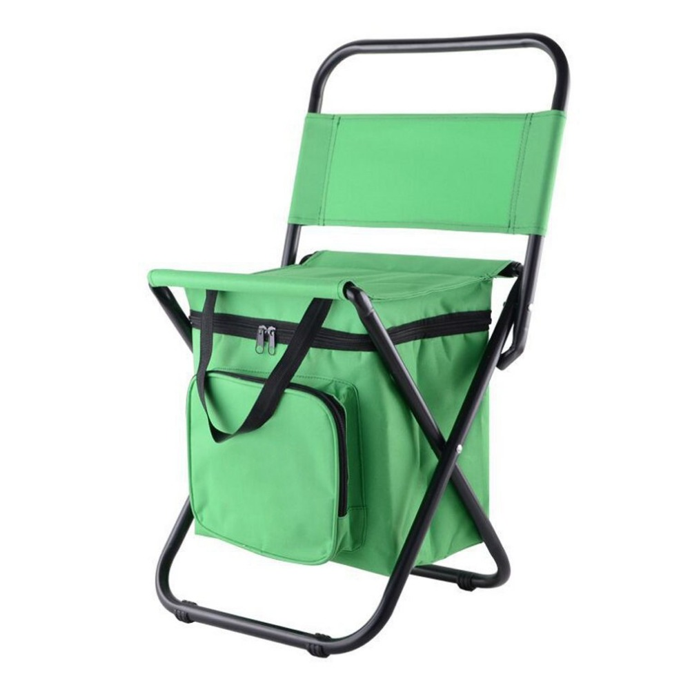 Backpack fishing chair - Beach Chair With Cooler Bag Multi Function Outdoor Foldable Chair Fishing Chair Ice Pack For Fishing Camping And Traveling