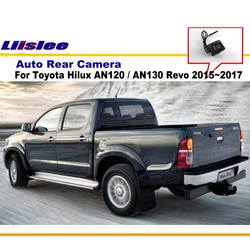 imágenes para Para Toyota Hilux 2010 ~ 2017/Cámara de Visión Trasera/Cámara de Aparcamiento Inversa/PAL CCD HD RCA NTST/Agujero de Vuelta Inversa OEM