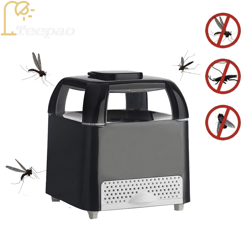 mosquito trap LED photocatalyst Mosquito Killer USB Nonradiative anti mosquito Fly Bug Insect LED Night Lamp Killer for Zapper household photocatalyst led mute usb mosquito killer