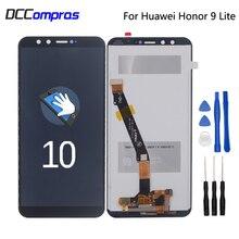 Original For Huawei Honor 9 lite LCD Display Touch Screen Digitizer Repair Parts For Honor 9 lite LLD-AL00 AL10 TL10 L31 LCD ltm190m2 l31 lcd display screens