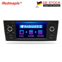 Android 7.1/8.0 Car Radio GPS Navigation Multimedia Stereo For Fiat Grande Punto Linea 2006 2012 Auto Audio WIFI Bluetooth IPS