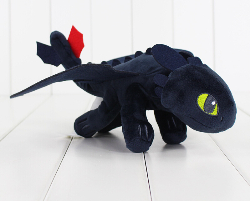 1Pcs 23cm How To Train Your Dragon Toothless Dragon Plush Night Fury - Stuffed Animals and Plush