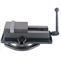 Precision machine vise CNC heavy 5 inches angle fixed clamp for milling  flat tongs