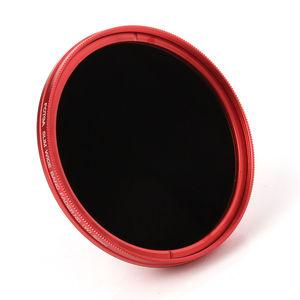 Image 2 - FOTGA 58 مللي متر ND مرشحات كاميرا سليم Fader ND(W) حلقة حمراء تصفية متغير قابل للتعديل ND2 ND8 إلى ND400