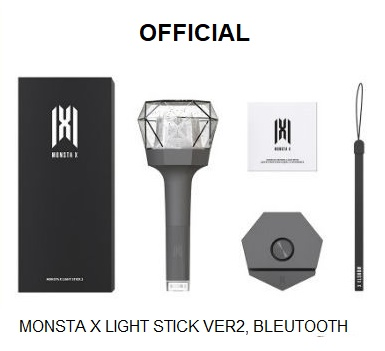 [MYKPOP]~100% OFFICIAL ORIGINAL~NEW ARRIVAL~ MONSTA X 100% OFFICIAL ORIGINAL Light Stick Ver 2, Bluetooth Version  SA19050901