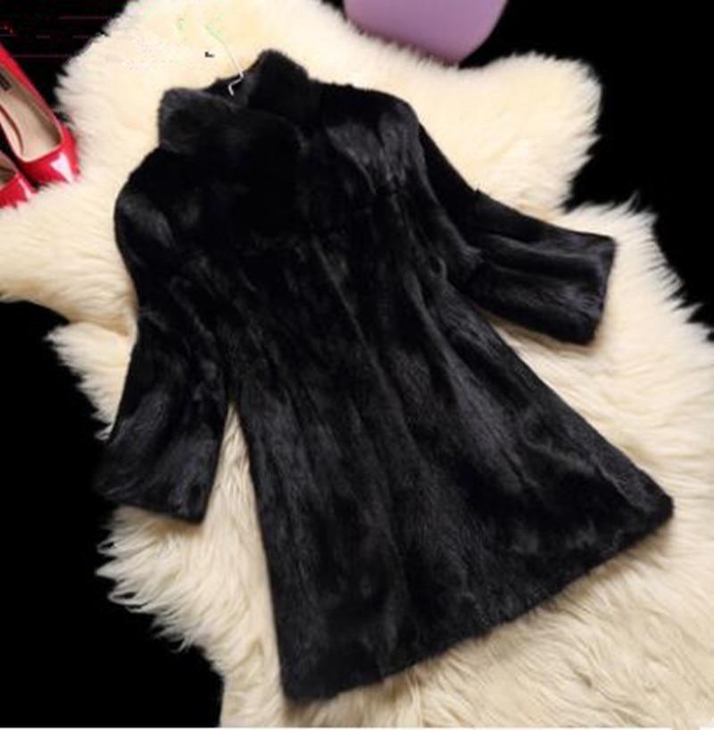 Visone cappotto pezzi visone visone acqua cappotto di pelliccia delle donne modelli 2017 nuovo inverno nel lungo tratto