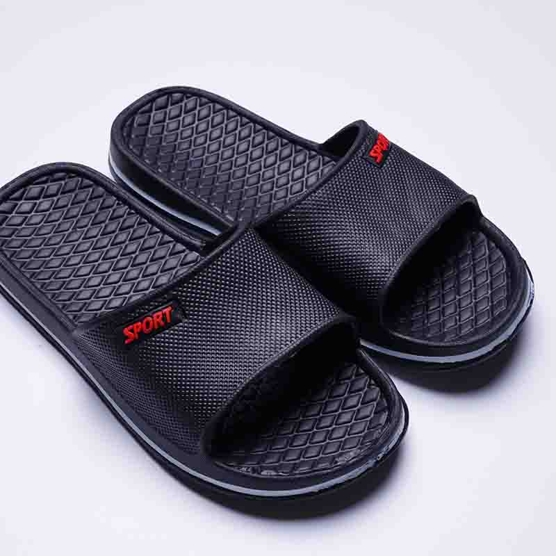 922eb0fa021e Senza Fretta Mens Slip On Sport Slide Sandals Flip Flop Shower Shoes  Slippers House Pool Gym Sandal Slippers Men Shoes WS060-in Slippers from  Shoes on ...