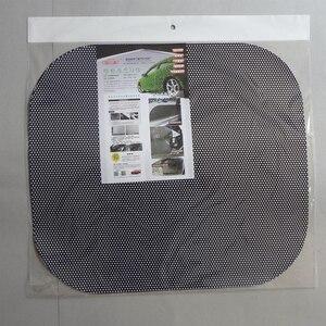Image 4 - Parasole auto tenda auto auto parasole car ombra adesivi elettrostatici 2 pz/lotto Anti Uv calore insulationWindow sticker 63*42 centimetri