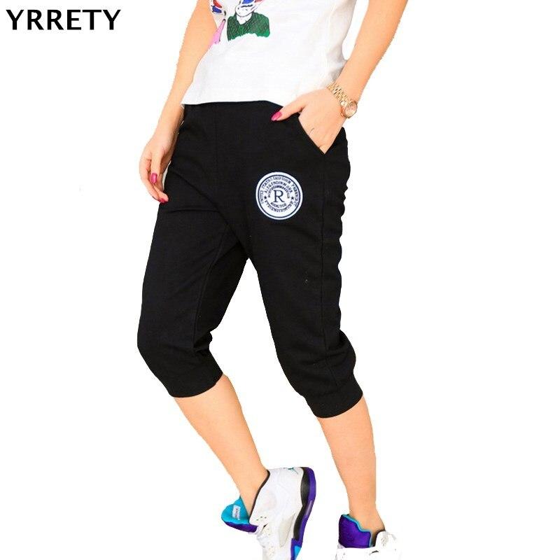 YRRETY Summer Women Casual Harem cotton   Pants   Female Deportes Women's Skinny Deporte   Pants   Long Seven Short   Capris   Trousers
