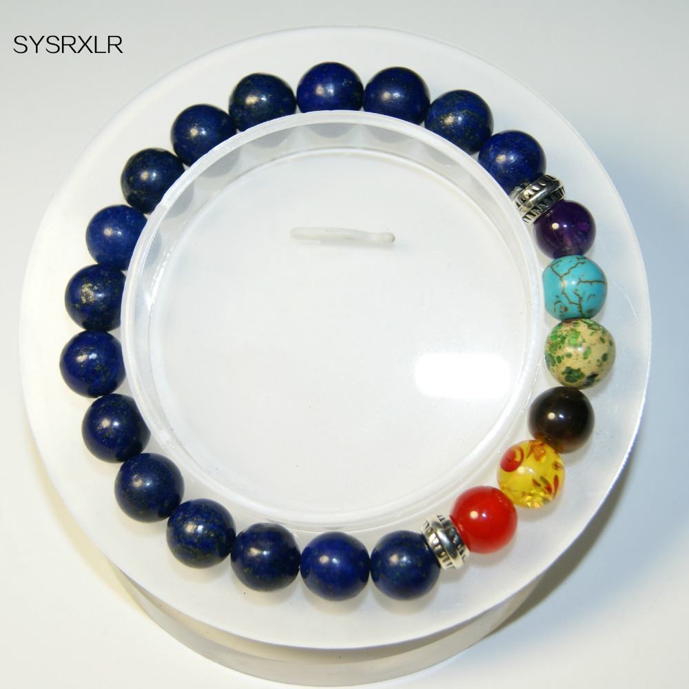 Wholesale Charm 8 MM Natural Stone 7 Chakra Balancing Healing Buddha - Fashion Jewelry - Photo 4