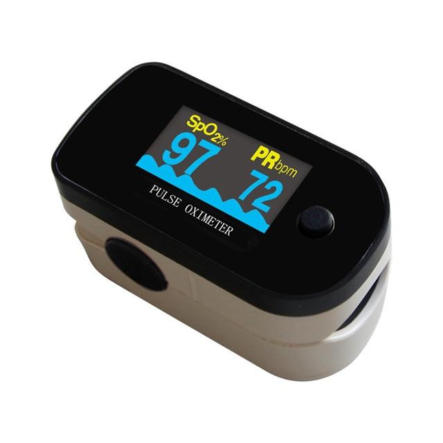 10PCS CE FDA Approved ChoiceMMed Black Blood Oxygen SpO2 PR Fingertip Pulse Oximeter MD300C2F