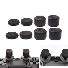 8pcs/Lot Enhanced Silicone Analog Controller Thumb Stick Grip Cap Skin Cover for Sony PlayStation 4