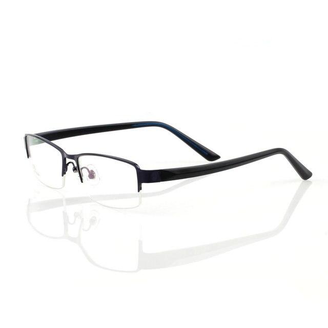 3d63294b3 31658 olho óculos TR 90 quadros para os homens de metal em aço inoxidável  optiacl armação