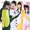 VEVEFHUANG Boy Girl Unicorn Panda Children Pajamas Unisex Flannel Stitch Kids Pajamas Cartoon Animal Cosplay Onesie