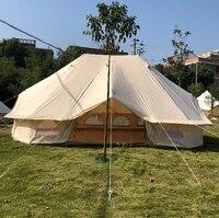 FREE SHIPPING Brand 3 doors 4*6 meter large glamping tent