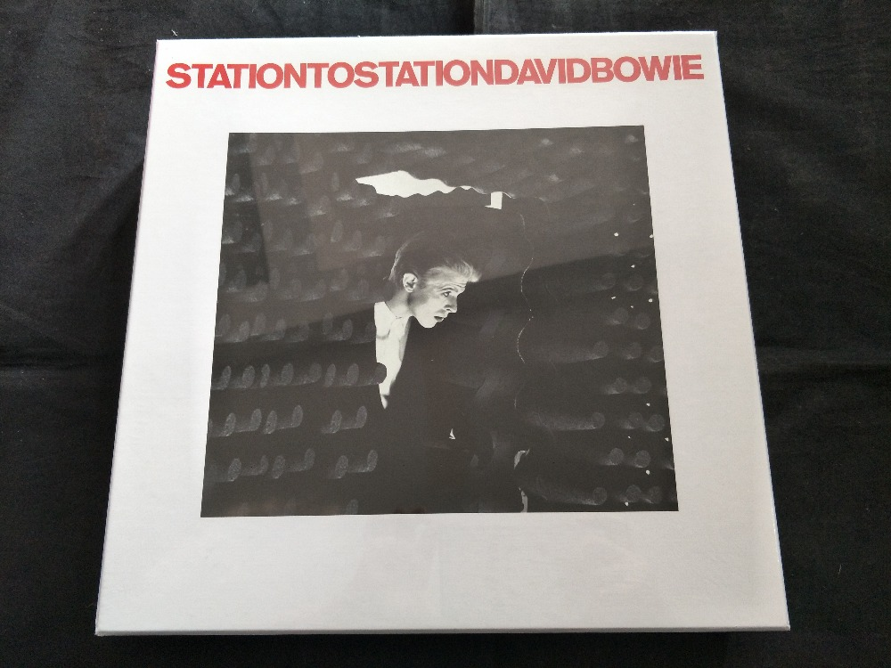 David Bowie - Station to Station EU Deluxe Edition 5CD+DVD+3LP Brand New RARE BOXSET