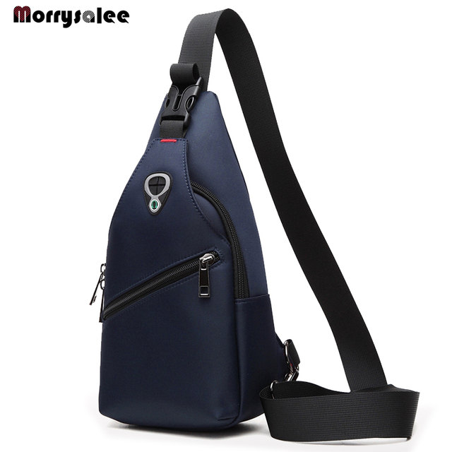 New Male Chest Bag Fashion Leisure Waterproof Man Oxford Cloth Messenger  Shoulder Bag For Teenager Bag 8b822f0484a5b