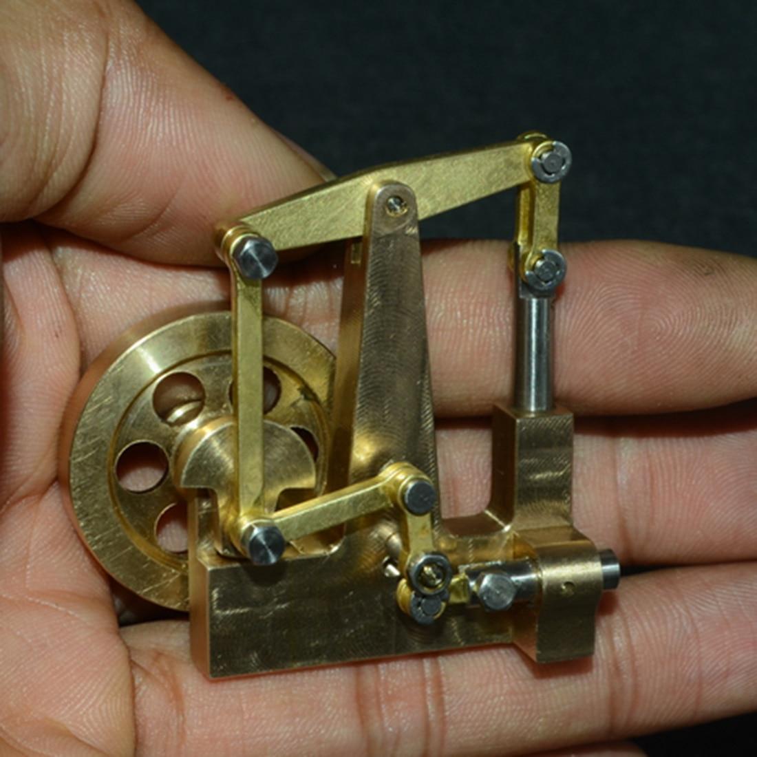 4.7x2.9x4.6 CM Balance Type Mini pur cuivre moteur à vapeur modèle sans chaudière Creative Science jouets cadeau ensemble pour enfants adulte