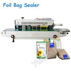 Elektryczna z tworzywa sztucznego uszczelniania maszyn worek z folii automatyczna data tłoczenie maszyna do pakowania FRB-770I