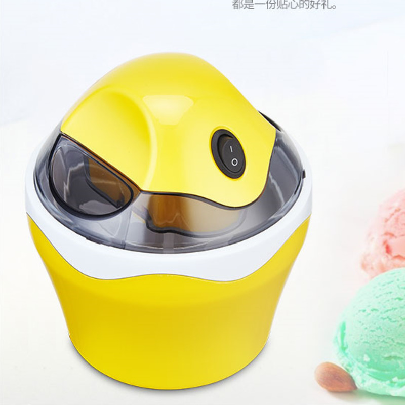 Ice Cream Machine Household Small-sized Fully Automatic Children Self-control Do Fruits Ice Cream Ice Cream Make Machine 4