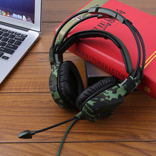 High Quality SA-931 Universal Super Stereo Bass Camouflage Headphones Home Office Gaming Noise Isolation Comfortable Headsets