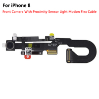 1pcs New High Quality Front Facing Small Camera Module Proximity Light Sensor Flex Cable For iPhone 8 8G 4.7'' 8 Plus 5.5 Parts