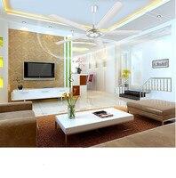 15% 5 гладить 56 мм лопасти третий шестерни потолочный вентилятор охлаждения воздуха гостиная обеденная большой ветер 1,4 м