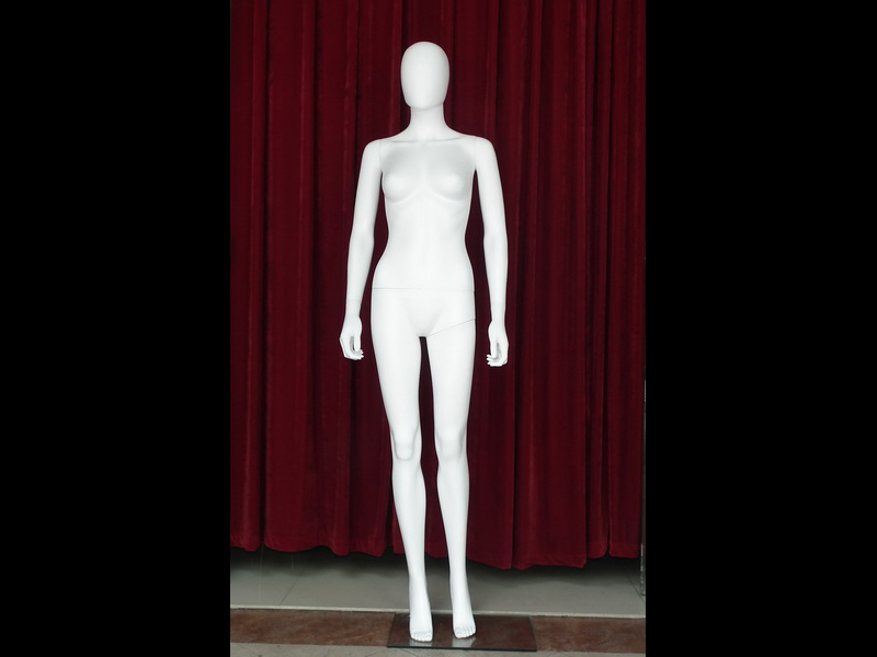The Environmental protection materials ABS plastic female EGGS HEAD DUMMY for Windows showcase