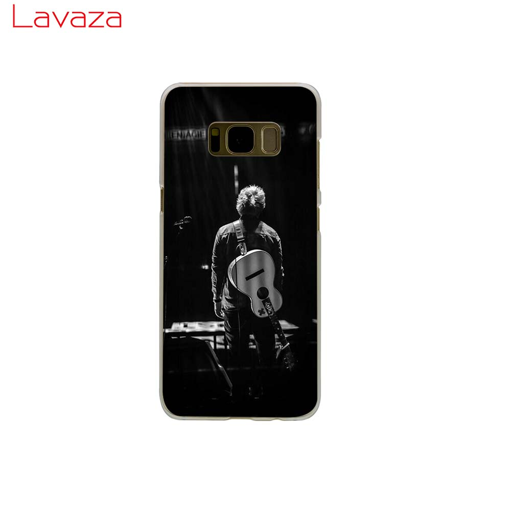 Lavaza ed sheeran Hard Phone Cover for Samsung Galaxy S8 S9 S10 Plus A50 A70 A6 A8 A9 2018 Case in Half wrapped Cases from Cellphones Telecommunications