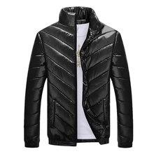 2017 Hot Sale Winter Jacket Men Thick Warm Windproof Parka Men  Stand Collar Casual Overcoat Zipper Men Winter Coat