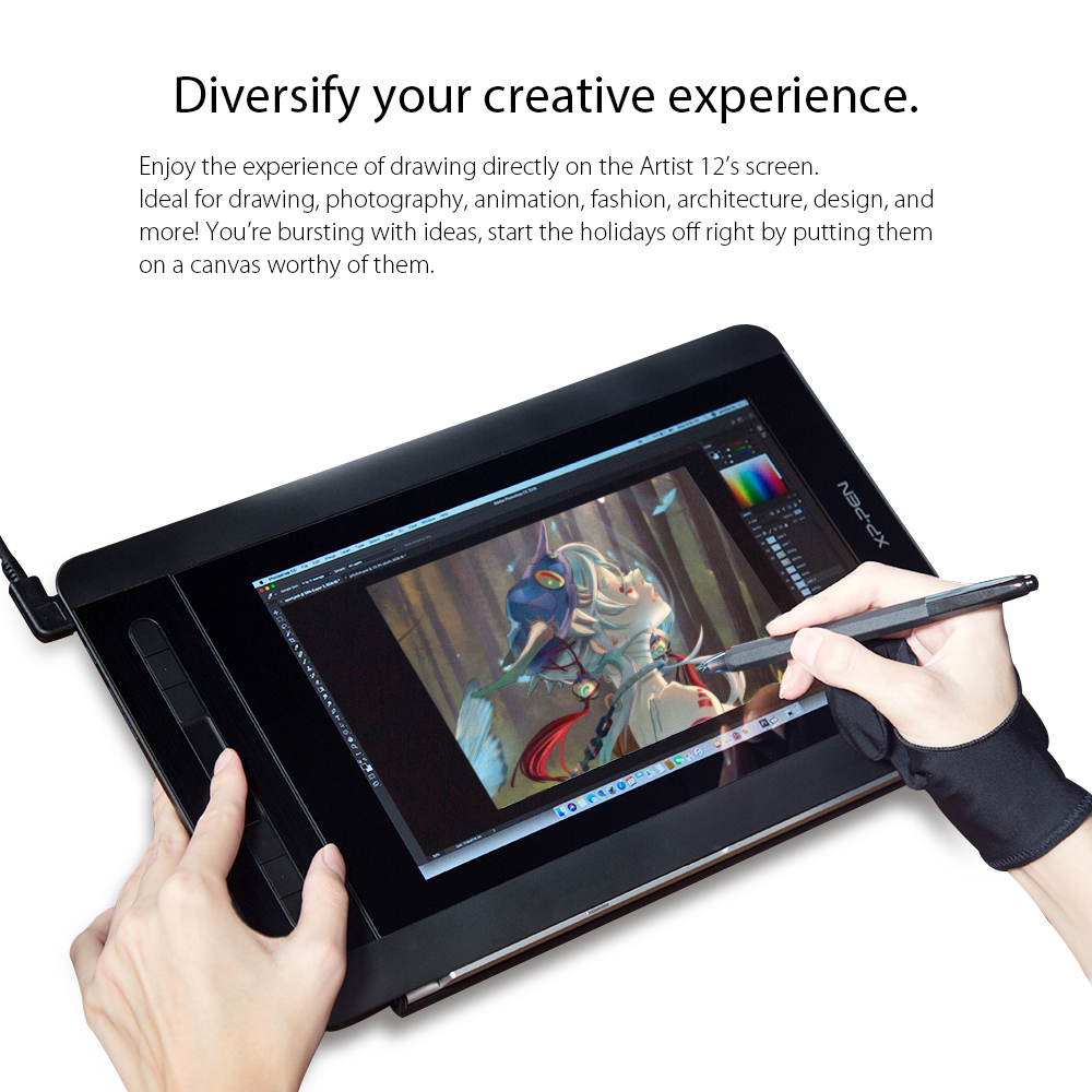Drawing tablet monitor Artist 12 (6)