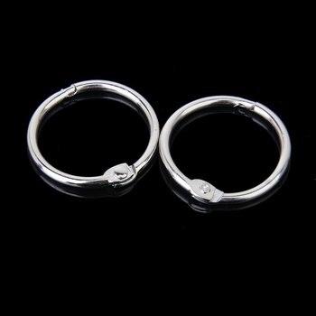 10x otwierane pierścienie do albumów albumów-45mm
