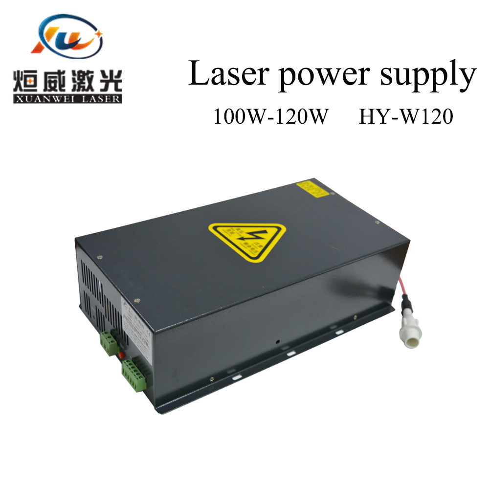 Co2 Laser Power Supply 100W-120W HY-W120 Co2 Laser Tube 1390 960 CO2 Laser Engraving Cutting Machines Factory Sale