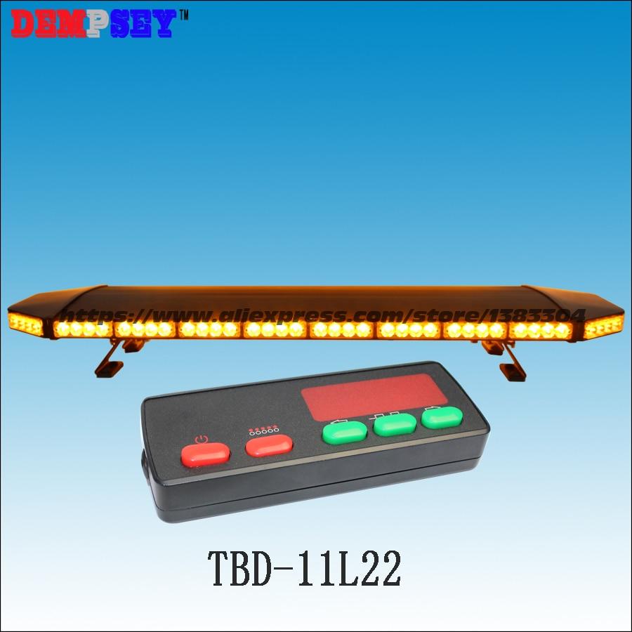 TBD-11L22 Hochwertiger bernsteinfarbener LED-Lichtbalken, - Schutz und Sicherheit - Foto 1