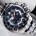 CAINO Männer Mode Business Quarz Armbanduhr Luxus Top Marke Voller Stahl Strap Wasserdichte Sport Uhren Männlich Relogio Masculino