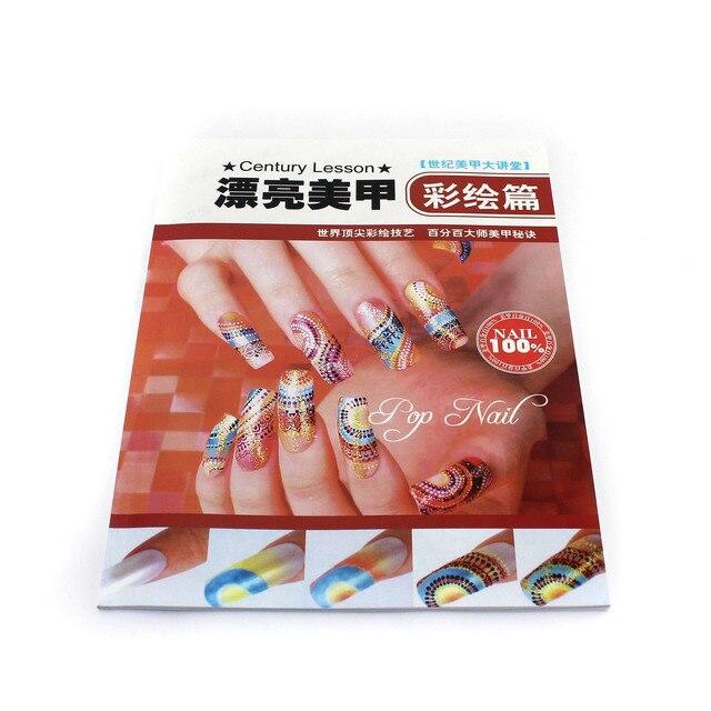 nail art tool nail art book beautiful nail art mdash . colored drawing